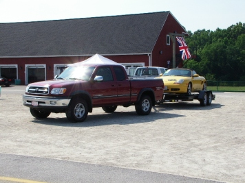Tundra towing 2
