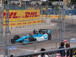 Race winner Simon Pagenaud