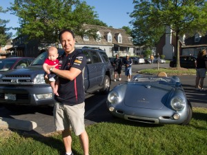 Porsche 550 Spyder (Replica) and Toby's 2005 Toyota 4Runner!