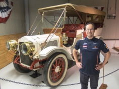 """1910 White """"MM"""" famous for being the training pace car for Jack Johnson and James Jefferies before their """"Fight of the Century"""" championship bout."""