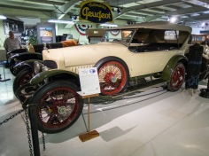 1915 F.R.P, built by Finley Robertson Porter, ex-manager of the all conquering Team Mercer. Its 454 cid SOHC engine with hemispherical combustion chambers produced 170 hp, the higher for production cars at the time. Unfortunately the company failed to secured financial backing due to WWI.