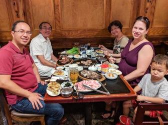 Korean BBQ at Yechon Restaurant