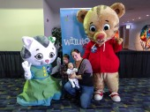 Daniel Tiger and Katerina Kitty Cat